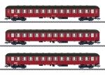H0 Reisezugwagen-Set, 3 Wag.,DSB   NH2020       [UVP 185,00