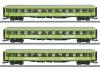 H0 Set 3 Schnellzugwagen Flixtrain   ###      [UVP  129.0i0]