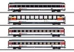 H0 EuroCity 4er-Set, SBB, Ep. VI   NH2020       [UVP 355.00]