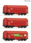 H0 3er Set Schiebeplanenwagen DB Ep VI NH2021   [UVP 089.90]