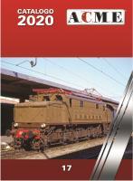 H0 ACME Katalog 2020                    [UVP   5.50]