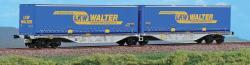 H0 Containerwagen Typ Sggmrss, LKW Walter Ep V-VI