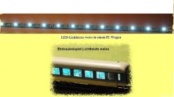 LED-Lichtleiste wei m. Kon. 290mm, 12 LED&#039;s