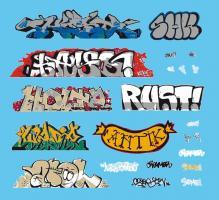 H0 Artitec Graffiti Wasserschiebefolie