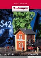 Auhagen Katalog  2017