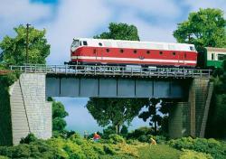 H0 Stahlbrücke