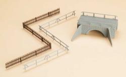 H0/TT 1:100 Kleine Steinbrücke
