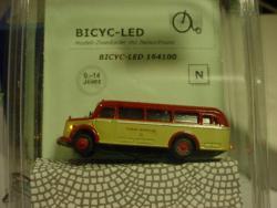 N MBO 3500 Omnibus KVB Krefelder LC3117 mit LED-Beleuchtung