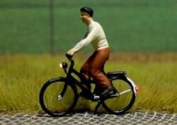 N Fahrrad  + LED-Beleuchtung  Licht vorne hinten Spur N