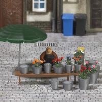 M-Welt H0: Marktstand Blumen