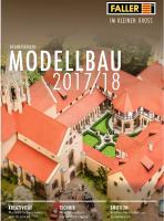 Faller Katalog 2017/2018 Art-Nr.F190906