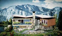 H0   B-271 Villa im Tessin       200x120x85mm  [UVP   39.99]