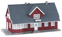 H0 Schwedischer Bahnhof 200x110x105mm NH2020   [UVP   18.99