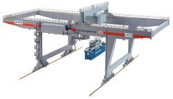 H0 Containerbrücke                   NH2018    [UVP  349.99]