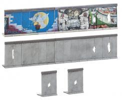 H0   Berliner Mauer  ###           220x24x43mm [UVP   23.99]