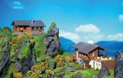 N Jägerhaus+Berggasthof 112x53x46 + 71x52x35mm###[UVP 13.99]
