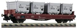 H0 Behaltertragwagen der DB      NH2018         [UVP 041.40]
