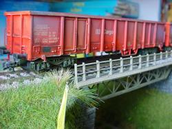H0 Hochbordwagen Eanos 537 7 992-8   DB Cargo Ep.V gealtert