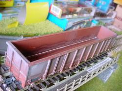 H0 Hochbordwagen Eanos 537 6 493-5 FS  Ep.V gealtert