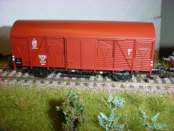H0 gedeckter Güterwagen Kddet PKP Ep III NH2016##UVP 027.90]