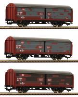 H0 Set 3 Schiebewandwagen gealtert DB Ep V NH2018[UVP 77.90]