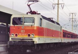 N  E-Lok BR 143 S-Bahn kieselgrau/orange NH2017###[UVP164.00