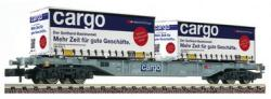 Spur N Containertragwagen SBB Sgns + 2x  NH2020 [UVP 040.90]