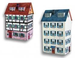 2 Stadthäuser H0