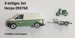 H0 VW T6+Anhäger+Vespa Spedition Wandt NH2017###[UVP  32,95]