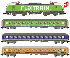 Spur N Hobbytrain Flixtrain 4-tlg. BR193 Vectron SOUND 3 Wag