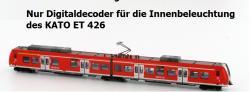 Spur N  FR 11 Digitaldecoder f. Innenbel. ET 426