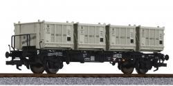 H0 Behältertragwagen BT 55, DB, Ep III  NH2012  [UVP 099.90]