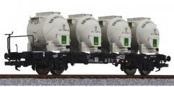 H0 Behältertragwagen BT55 Ep3 Bremserbühne NH2012 [UVP99.90]