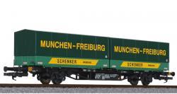 H0 Containertragwagen Lgjs 571 DB NH2NH2013/2016 [UVP68,00]