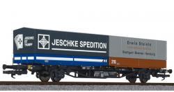 H0  Containertragwagen Jeschke Ep IV   NH2017   [UVP  68.00]