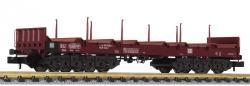 Spur N 6-a Flachwagen Blechcoils DB Ep IV NH2015##[UVP 68.00