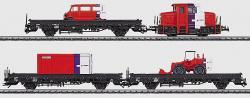 Bauzug NS Strukton Lok + 3x Niederbordwagen [Delta]