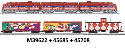 H0 F7 Coca Cola-Zug 6-teilig  mit 2 Motoren+SOUND[UVP 749.97