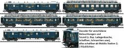 H0 4-er Set Simplon-Orient-Express NH2019 Sommer[UVP 559.99]