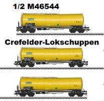 Set 3 gelbe Kesselwagen GATX Zans###NH2015 MHI [UVP 100.00]