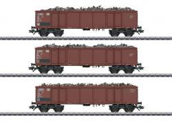 H0 Güterwagen-Set Eaos DB m.Ladung###NH2019 MHI [UVP 099.99]