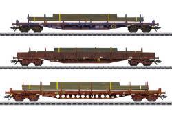H0 Flachwagen-Set, CFL Cargo, Ep   NH2020       [UVP 185,00