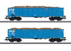H0 Hochbordwagen-Set Eanos NL  ### NH2019 Herbst[UVP 084.99]