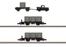 Spur Z Behältertragwagen-Set DB    NH2019       [UVP 109.99]