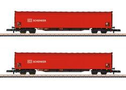 Z  Schiebeplanenwagen-Set DB AG  AGNH2020       [UVP 076.99]