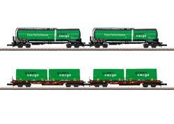 Z  Güterwagen-Set Green Cargo   o  NH2020       [UVP 155.00]