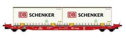 H0 Contwg. SGKKMS698 DB Schenker 2x20' ConNH2014[UVP  29.90]