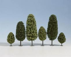 N     Laubbäume, 10 Stück, 6,5 - 11 11          Spur_H0/TT
