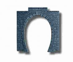 HO Portal, Kunststoff, 1-gl. g, 11  ück-Packung, je 11x11 cm