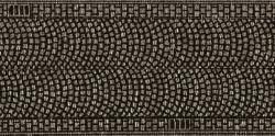 HO Kopfsteinpflaster, 50mm   x 5 cm , in 2 Rollen à 1 m